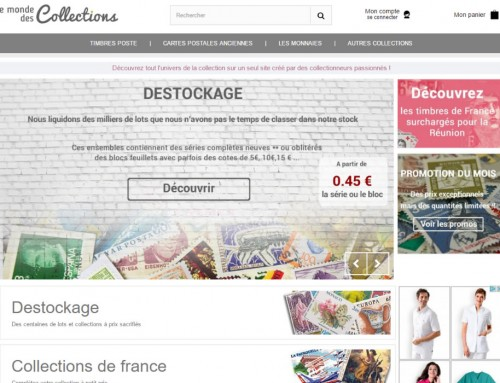 Le monde des collections